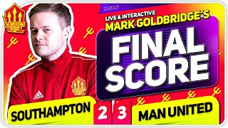 GOLDBRIDGE!! Southampton 2-3 Manchester United Reaction