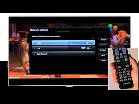 5dcfe4eb38e Samsung Smart TV - Conectando tu Smart TV a internet - YouTube