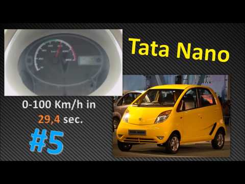 Top #10 Slowest Cars of the World