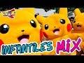 Download CANCIONES INFANTILES MIX / MUSICA INFANTIL / POKEMON La Cancion de PIKACHU / The Pikachu Song MP3 song and Music Video
