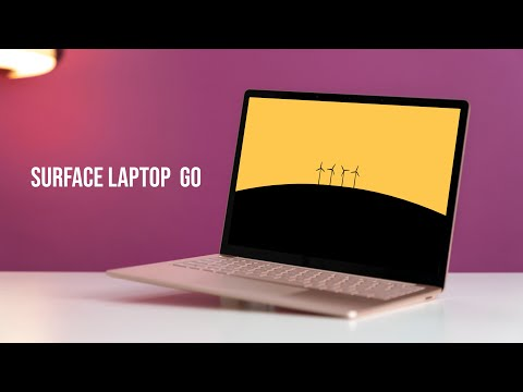 Surface Laptop Go - The Perfect Laptop for Students!
