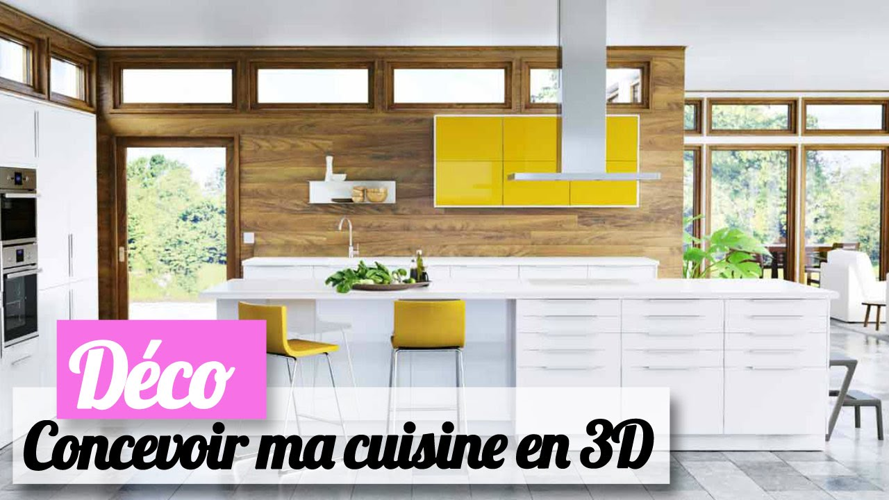 comment concevoir ma cuisine ikea en 3d les conseils d 39 une pro youtube. Black Bedroom Furniture Sets. Home Design Ideas