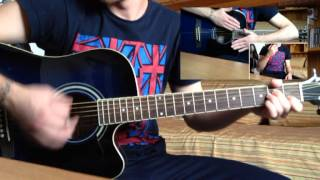 Bailando Enrique Iglesias guitar maracas  cover