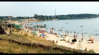 пляж Блакитне озеро Займанщина база відпочинку с. Єлизаветівка 22.07.17
