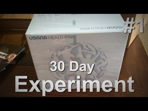 UNBOXING, WEIGH-IN, AND COLOURED PEE!: The USANA Health Pak 30 Day Experiment (Part 1)