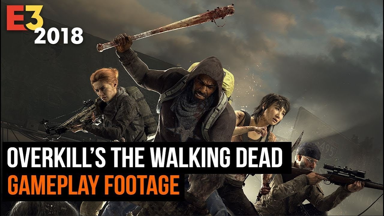 8 Minutes of The Walking Dead Gameplay