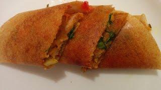 Vegetable Masala Dosa Recipe By Savita Benur