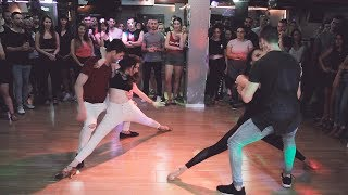 Gambar cover Ofir Y Ofri And Daniel Y Tom @Sensual Bachata Dance[Contando Minutos]