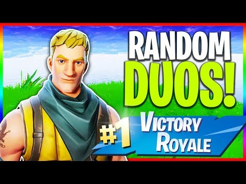 🔴 Solo Grind & Random Duos // NEW Skins (Fortnite LIVE Gameplay) thumbnail