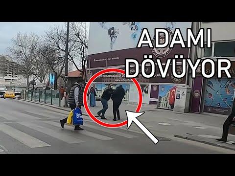 Türkiye'de motorcu kavgalar   Taksici adamı dövdü!   Polisten kaçma  (en yeni 2021)