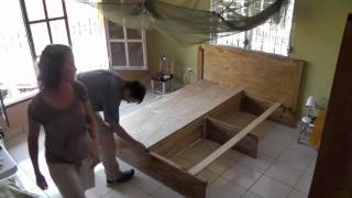 Homemade Platform Bed