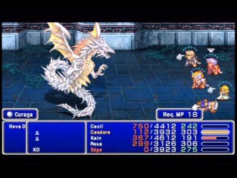 Final Fantasy IV - The After Years (PSP): Nova Dragon / Lord Dragon / Shinryu