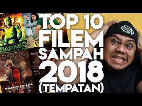 #ZHAFVLOG - DAY 363/365 - TOP 10 FILEM SAMPAH 2018 (Tempatan) | Malaysia Movie Review