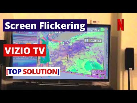 How to Fix VIZIO TV Screen Flickering [without repair