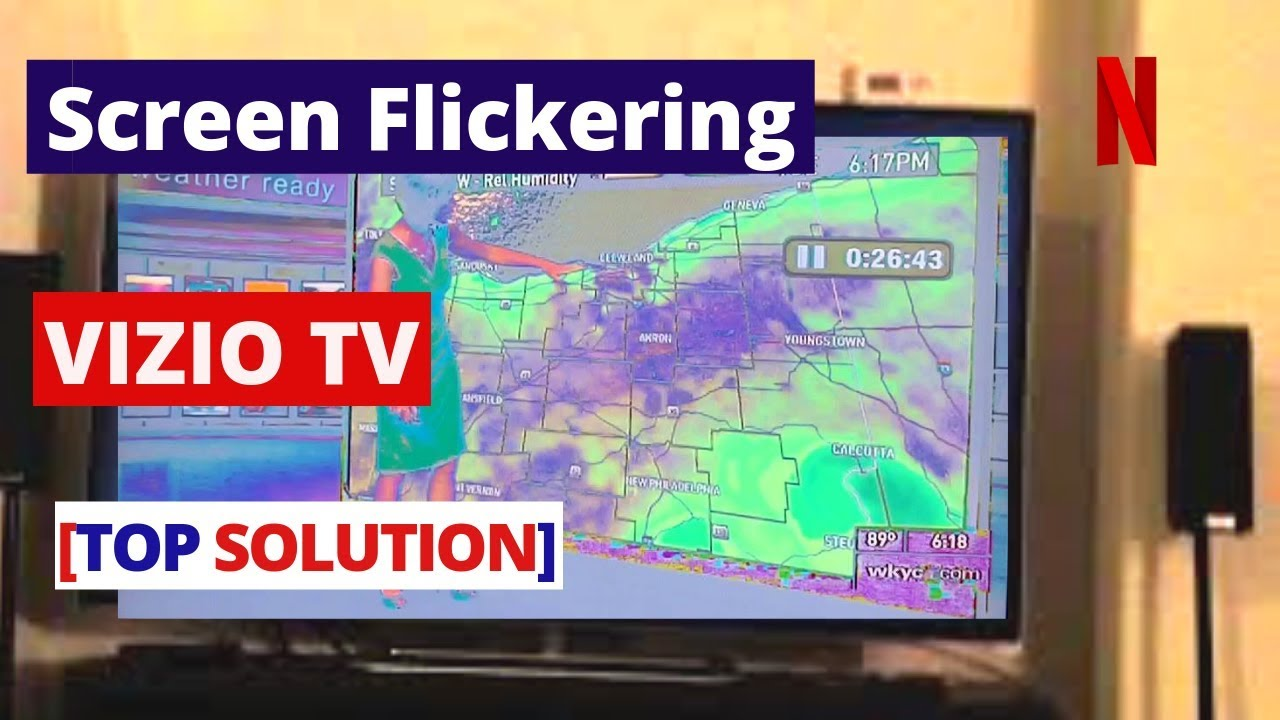 How to Fix VIZIO TV Screen Flickering [without repair] || How to fix VIZIO  TV Screen Not Working