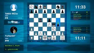 Chess Game Analysis: Furher007 - Sakkir MiZúz : 1-0 (By ChessFriends.com)