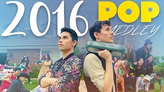Repeat youtube video 2016 POP MEDLEY/Epic Mannequin Challenge!! (Sam Tsui & KHS)