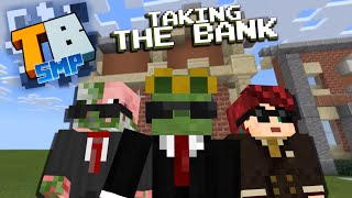 Banking System w.Silent and Ly! - Truly Bedrock season1 #9 - Bedrock Edition Youtube Server