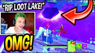 NINJA REACTS TO HIS ٭FIRST٭ EVER GAME OF FORTNITE! NOOB؟ Fortnite SAVAGE  u0026 FUNNY Moments