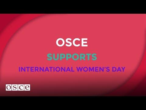 OSCE supports International Women's Day
