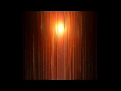 4K Orange Curtains Light Waves 2160p Motion Background