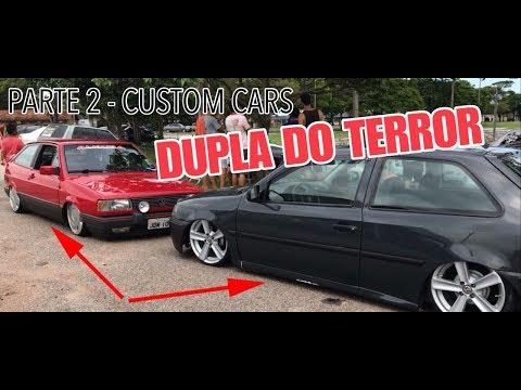 DUPLA DO TERROR - SE LIGA NESSA SEGUNDA PARTE DA CUSTOM CARS - CANAL 4K / MÍDIA AUTOMOTIVA