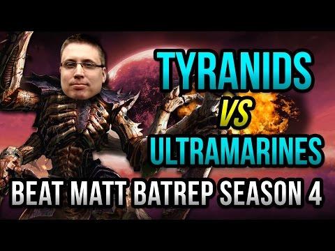 Tyranids vs Ultramarines Warhammer 40k Battle Report - Beat Matt Batrep Ep 13