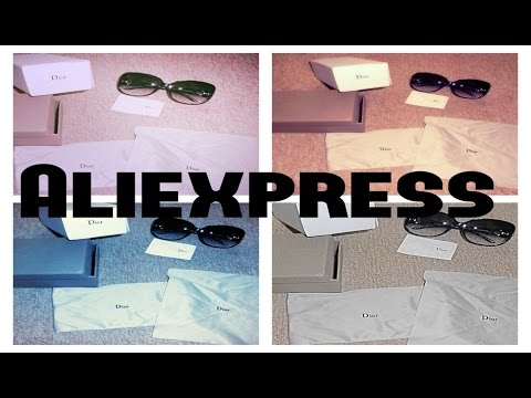 Top Lunette Dior de chez Aliexpress - YouTube WB98