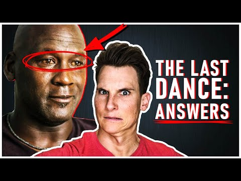 8 QUESTIONS from The Last Dance ANSWERED [yellow eyes, LeBron threat]