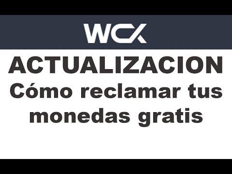 WCX.- ACTUALIZACION Cómo reclamar tus monedas gratis