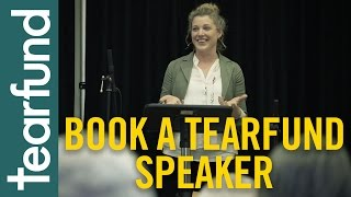 Book a Tearfund speaker to inspire your church
