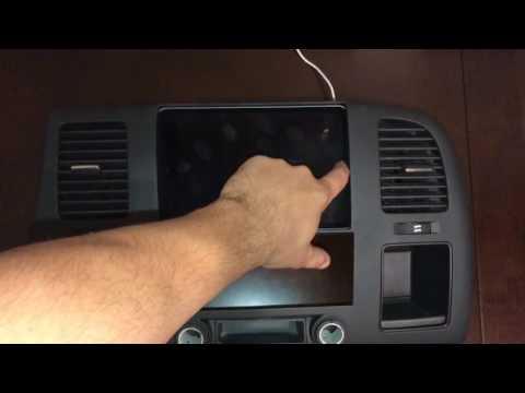 2007 - 2013 Silverado Or Sierra Ipad Mini 2 3 4 Bezel Dash Kit 2x4