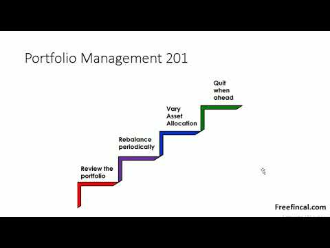 What is portfolio construction and management?