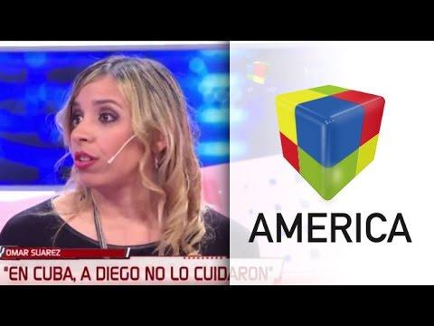 """Habló la ex novia de Maradona en Cuba: """"Me mostraron una valija llena de cocaína"""""""