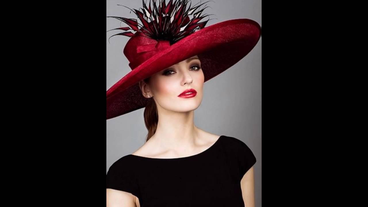 Elegantes Sombreros De Damas - YouTube 5a1aa579462