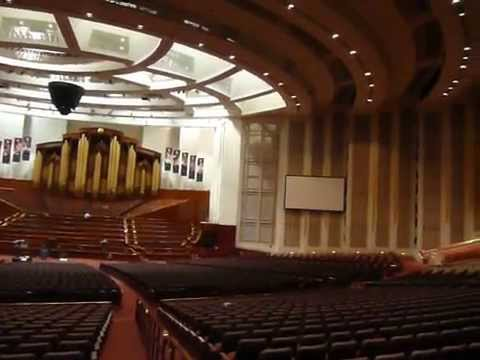 Das LDS-Konferenzzentrum des Convention Center in Salt Lake City (engl. LDS Conference Center)