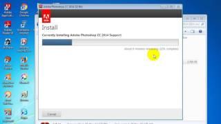 How To install Adobe Photoshop cc 2014