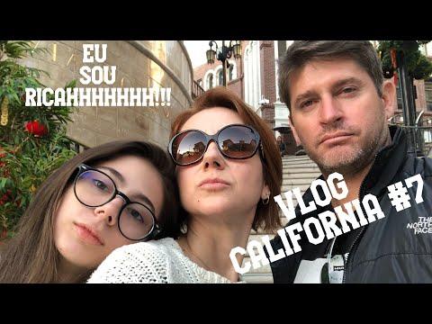 Vlog Califórnia #7 - Píer de Santa Monica, Beverly Hills, Rodeo Drive, Farm Market e The Grove