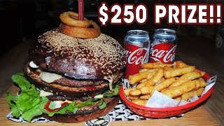 "$250 ""Don"" BURGER Challenge RECORD ATTEMPT!!"
