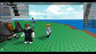 TIME TO SURVIVE!!!!!!!!!! -Natural disaster survival #1- play roblox-with my brother