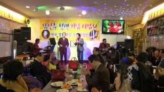 거울은 먼저 웃지않는다(가수 박진석 2014. 12. 14)-남인수선생기념사업회 송년회