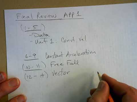 AP Physics 1 Final Exam Review - YouTube