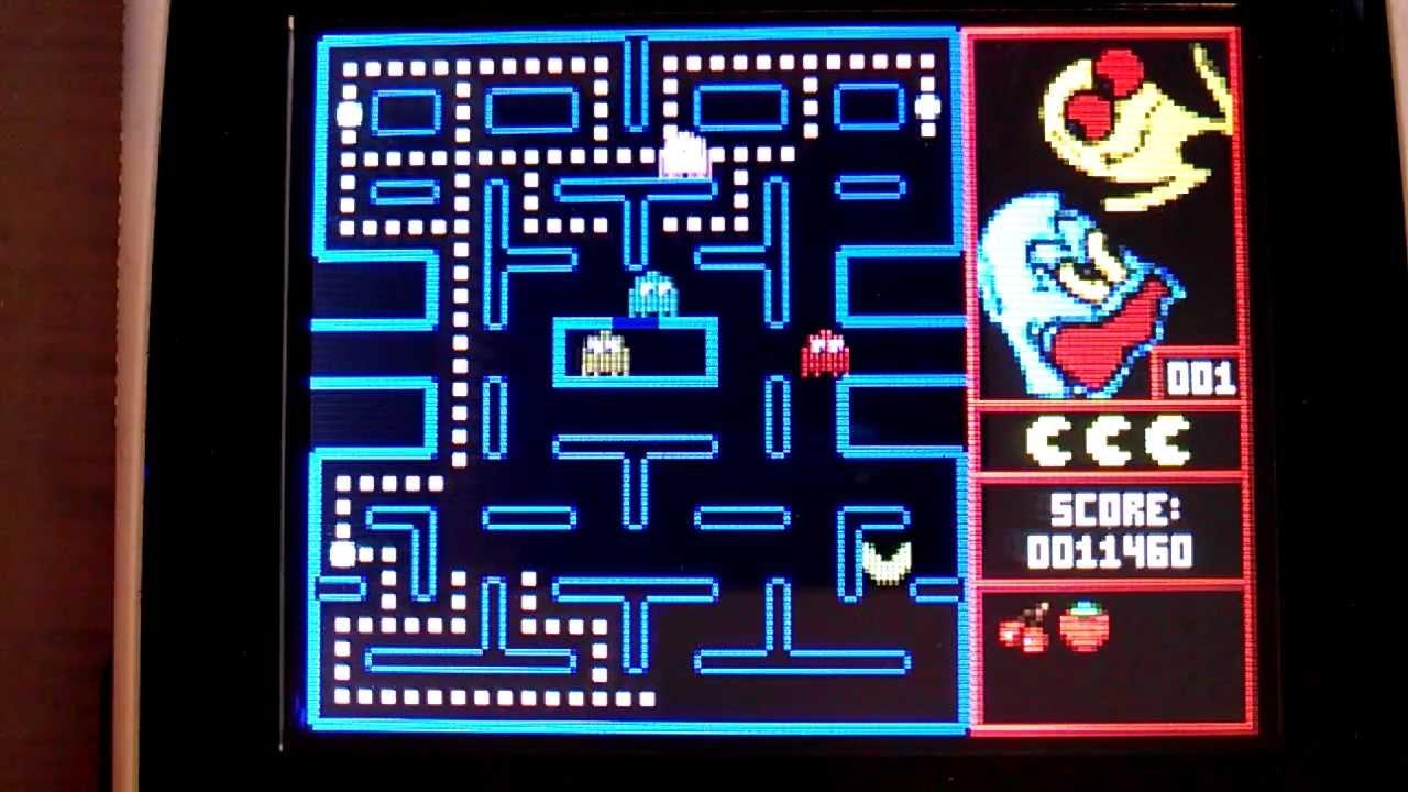 TI84+C Pacman v1.0 Game - YouTube