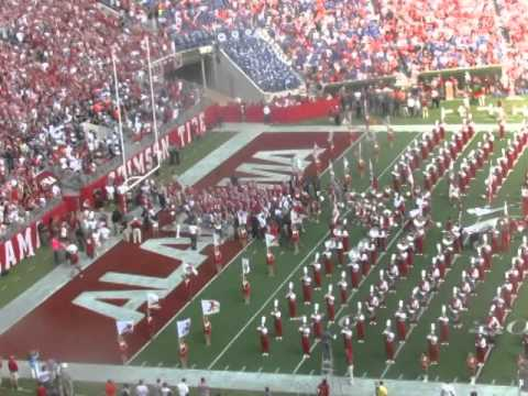 University of Alabama football team entrance 9/20/14