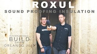 Fire and Sound Proofing Insulation by Roxul