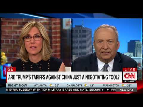 LAWRENCE SUMMERS FULL INTERVIEW WITH ALISYN CAMEROTA - NEW DAY (4/5/2018)