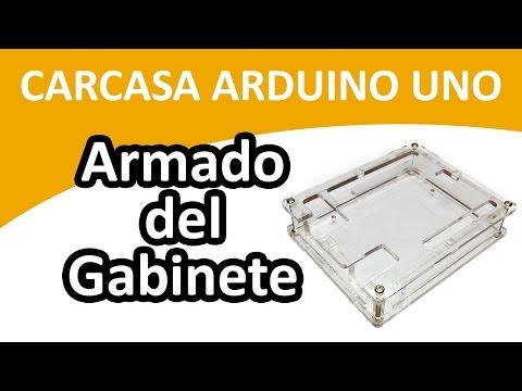 Colocando Carcasa Protectora De Acrilico En Arduino Uno | Dinteltec