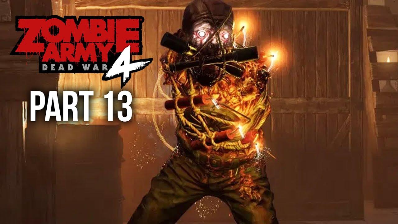 ZOMBIE ARMY 4 DEAD WAR Gameplay soluce, partie 13 - TOUTES LES ROUTES MENENT À L'ENFER (Tous les objets de collection) + vidéo