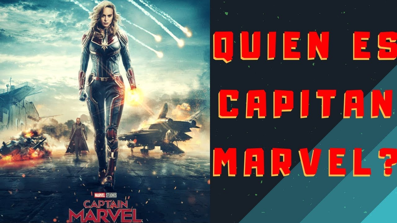 captain marvel quien es