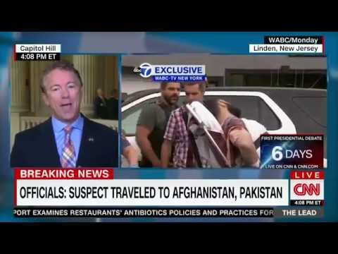 "Sen. Rand Paul on CNN's ""The Lead with Jake Tapper"" - Sept. 20, 2016"